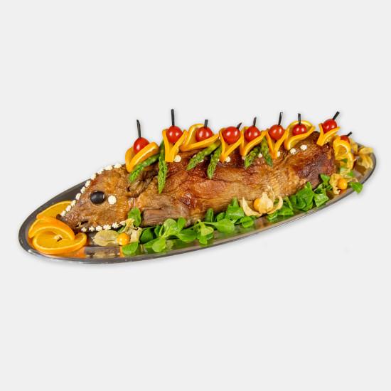 порося фаршироване гречкою 100 м'ясо, птиця 198 6