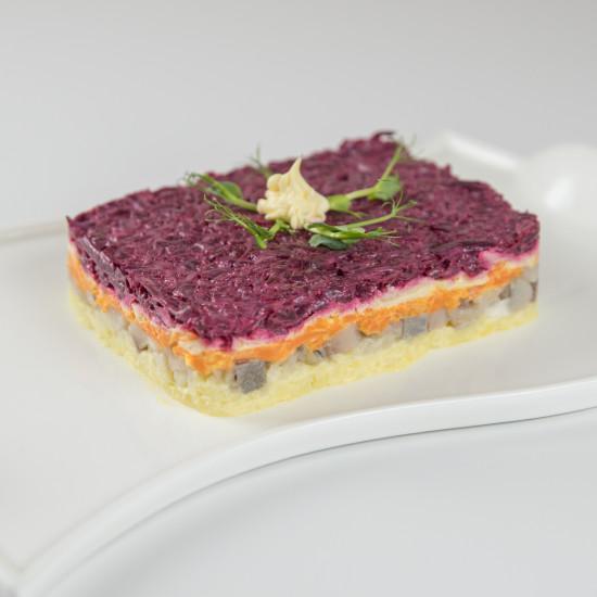 салат «шуба» 150 55 6